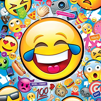 Buffalo Games - Emojis - 300 Large Piece Jigsaw Puzzle, Model Number: 2775: Toys & Games