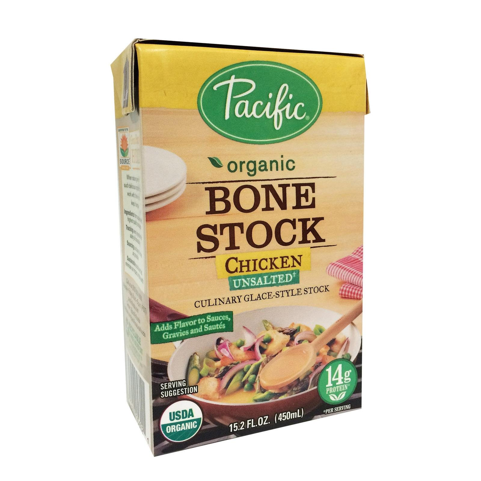 Pacific Natural Foods Stock,Og2,Chicken Bone 15.2 Fz (Pack Of 12) by Pacific Natural Foods