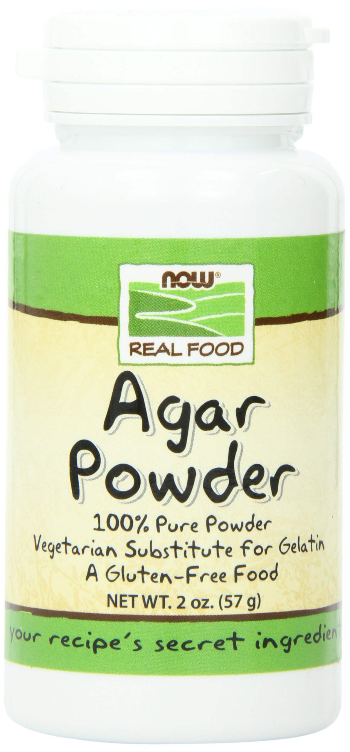 NOW Agar Powder,2-Ounce