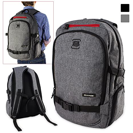c9bf2a19c8 Laptop Backpack, SnuggTM Premium Rucksack - Fits Laptops up to 15.6