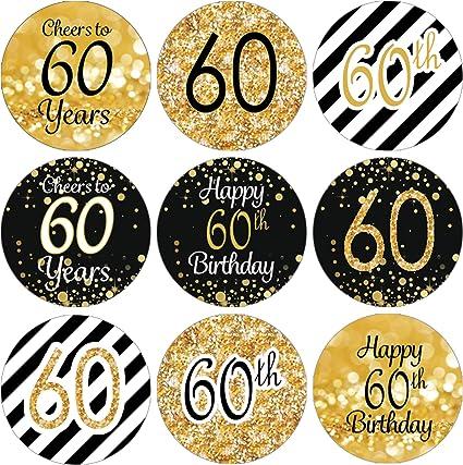 Amazon.com: Pegatinas de fiesta de cumpleaños Nº ...