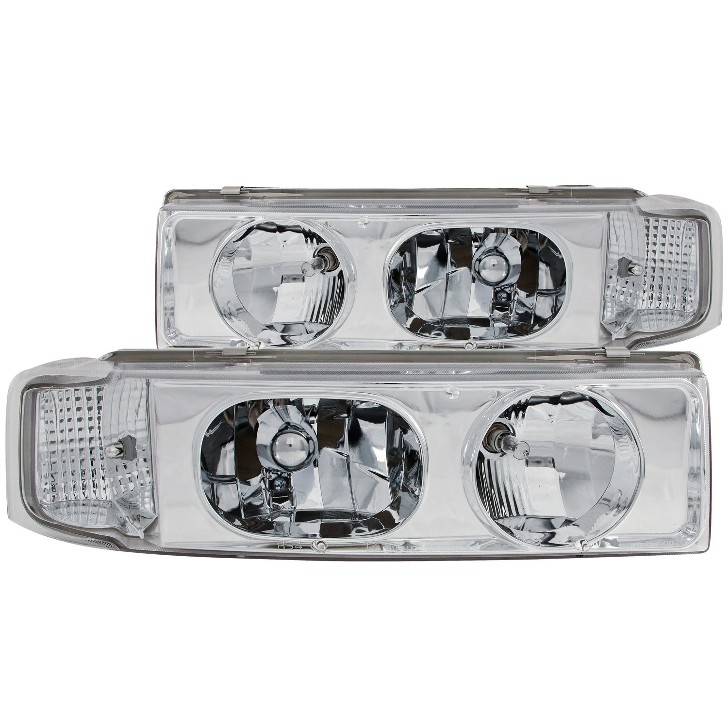 Anzo USA 111001 Chevrolet Astro 1 Pc Chrome Headlight Assembly Sold in Pairs