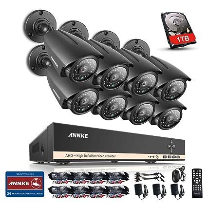 [1280*960P HD] ANNKE® Kit de 8 Cámaras de Vigilancia (Onvif