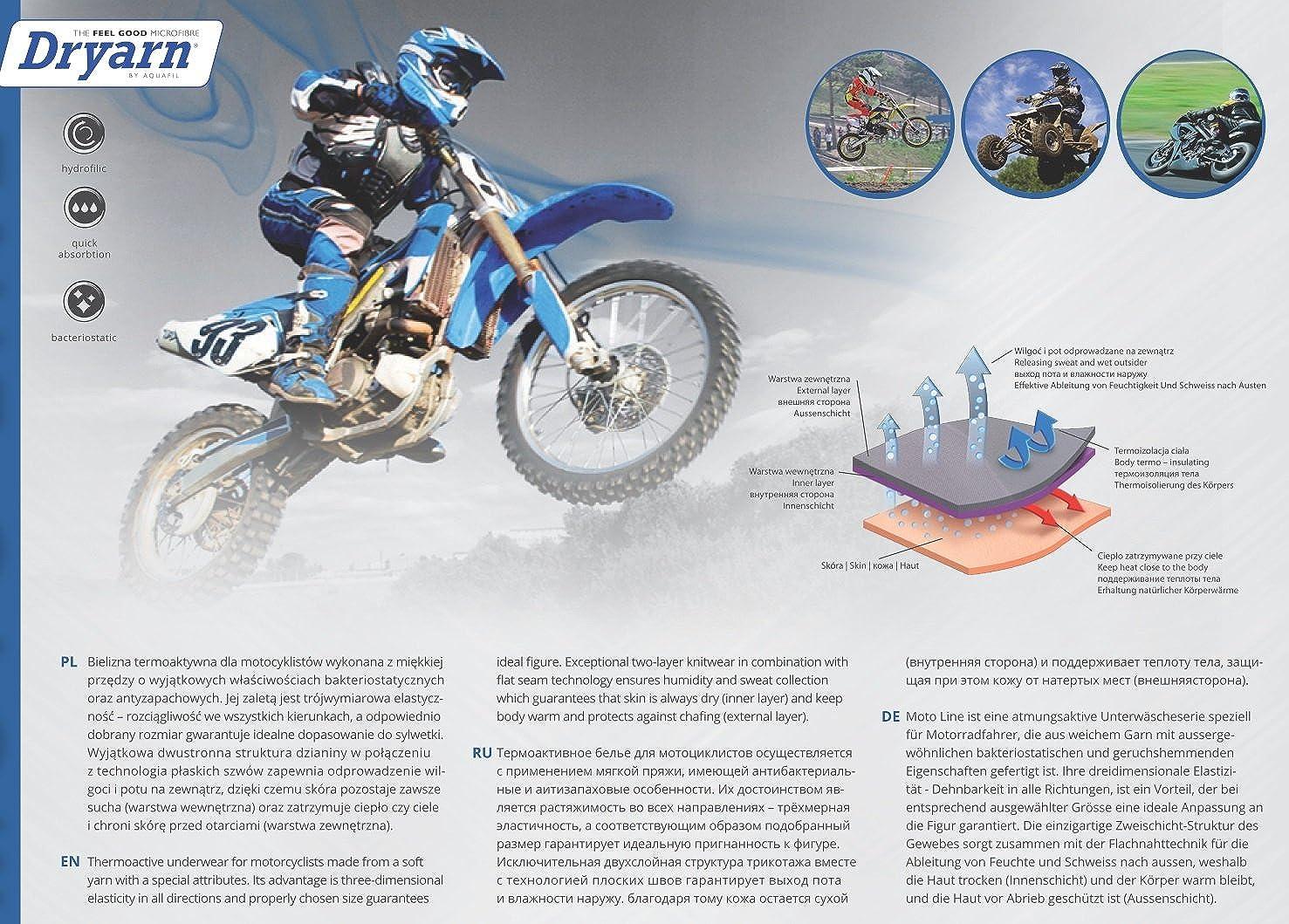 TESPOL funktionale Balaclava Sturmhaube Sturmmaske Motorradmaske Thermoaktiv Unisex Made in Italy