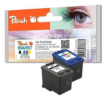 Peach PI300-135 - Cartucho de tinta para impresoras (Negro, Cian, Magenta, Amarillo, 26 cm, 2,5 cm, 26,5 cm, Icecat.biz)