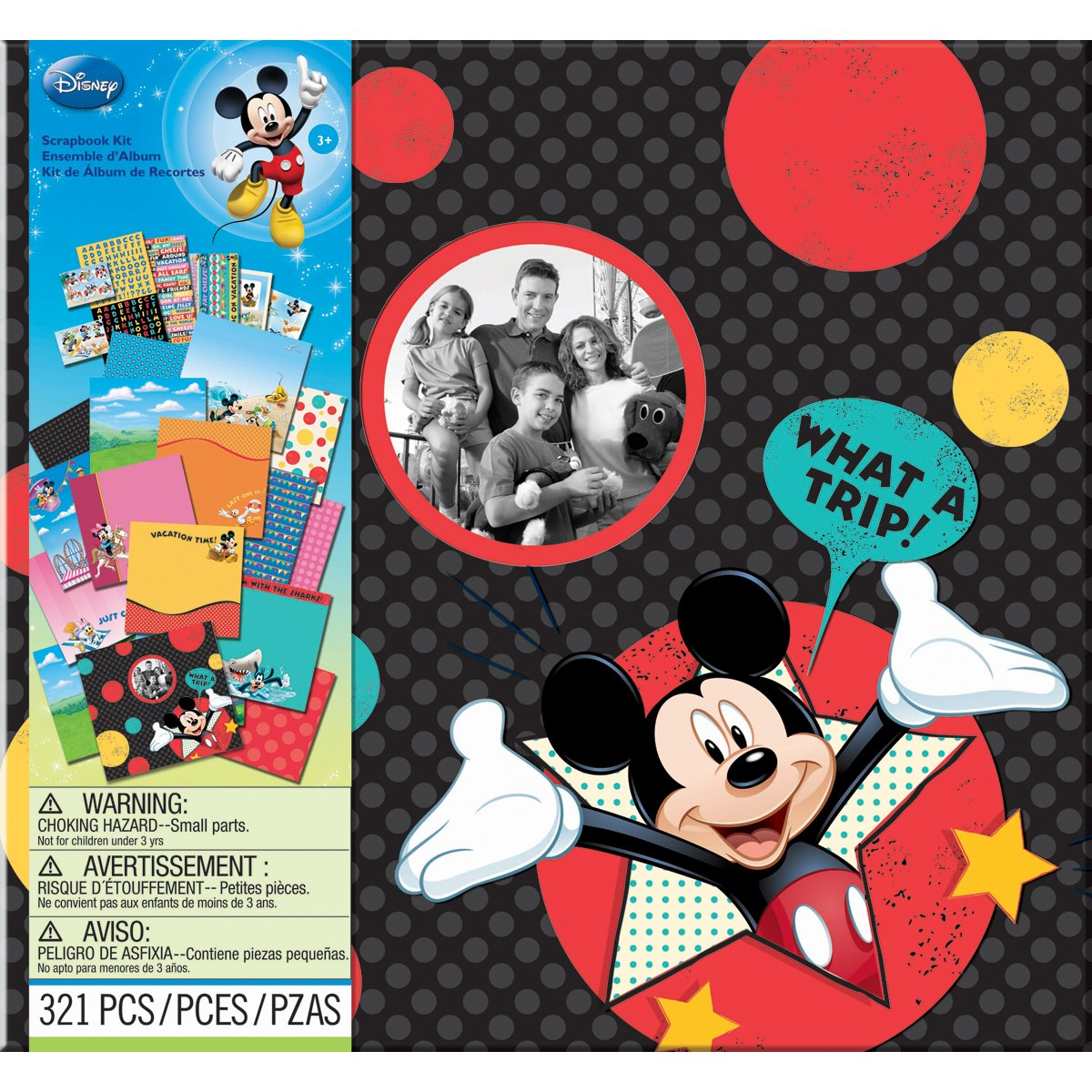 EK Success Disney Vacation Scrapbook Kit 12