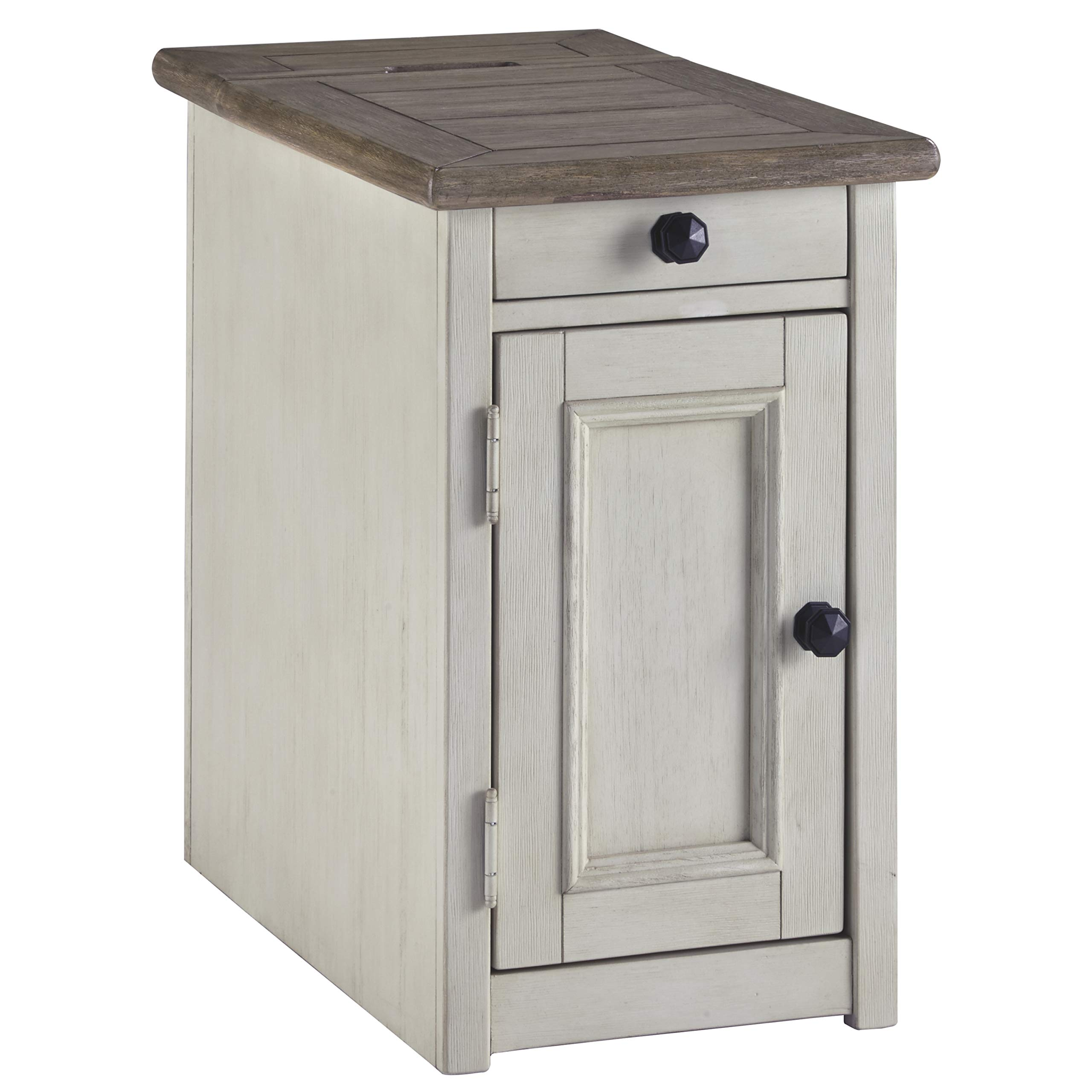 Ashley Furniture Signature Design - Bolanburg Chairside End Table, Two-Tone by Signature Design by Ashley