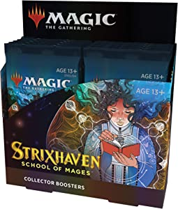 Magic The Gathering Strixhaven Collector Booster Box   12 Packs (180 Magic Cards)