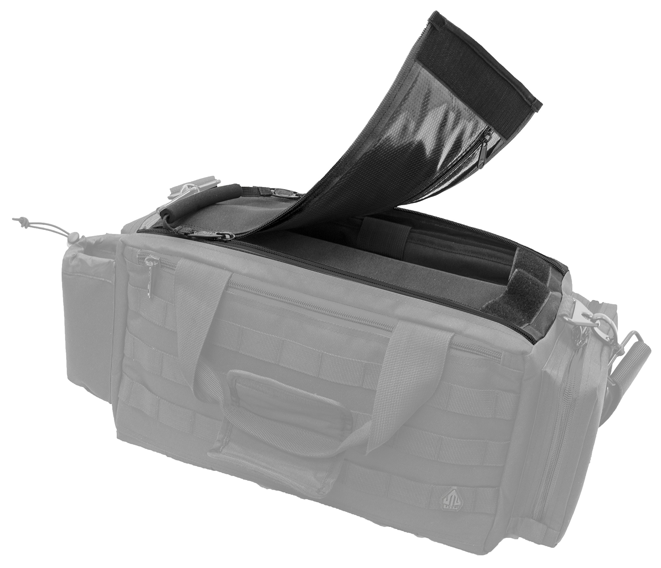 UTG All in One Range/Utility Go Bag, Black, 21'' x 10'' x 9'' by UTG (Image #6)
