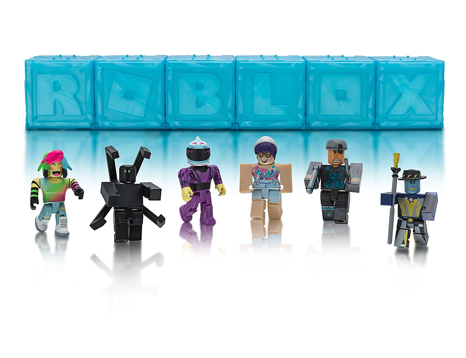 Roblox Mystery Polybag of 6 Action Figures, Series 3 Jazwares Domestic 10869