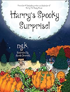 Harry\'s Spooky Surprise! (Harry The Happy Mouse Book 3)