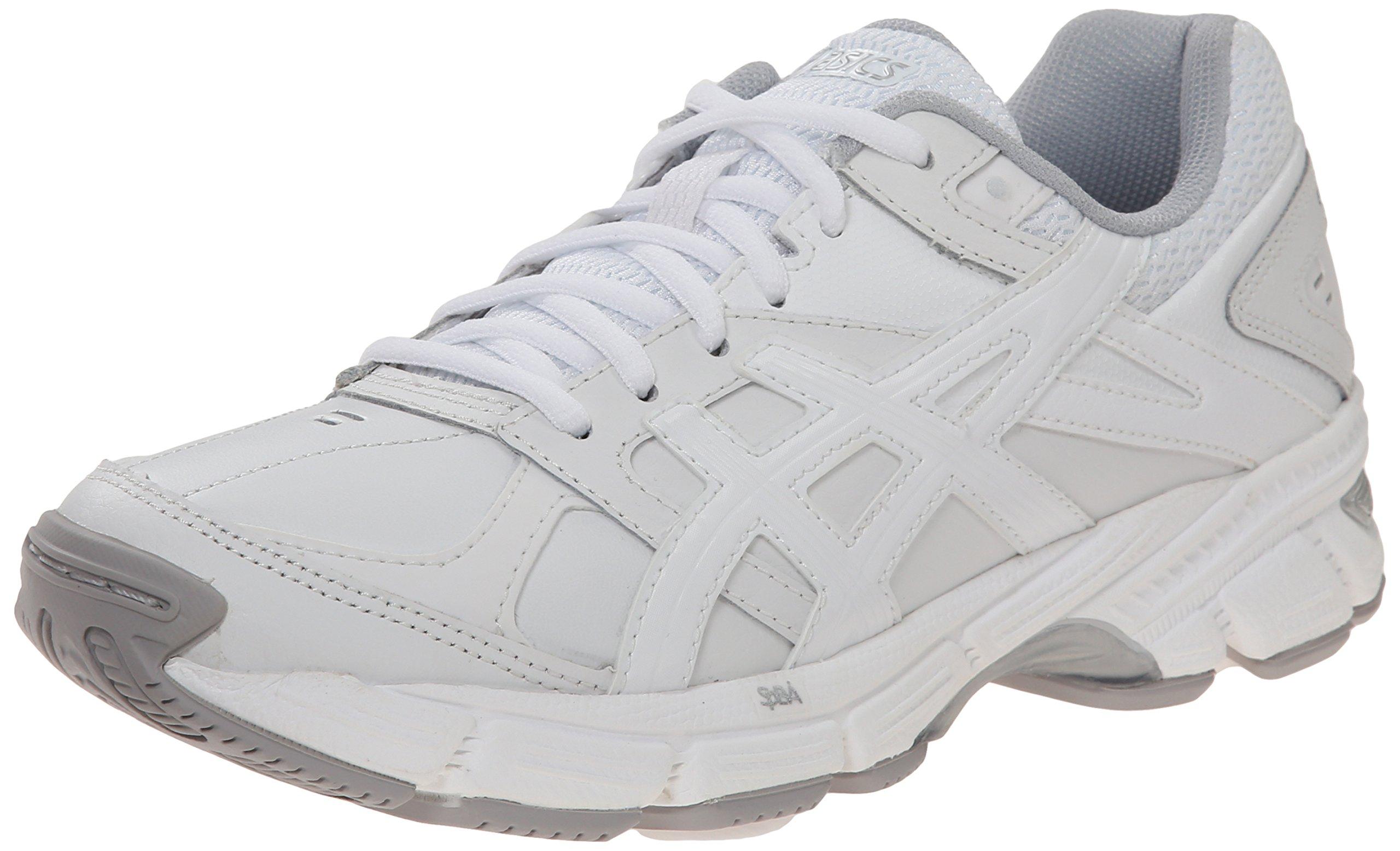 ASICS Women's Gel 190 TR Training Shoe, White/White/Silver, 11 M US