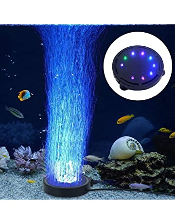 LONDAFISH Luz de la Burbuja del Acuario Luz de la lámpara de la Burbuja de la