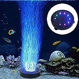 Aquarium Bubble Light Aquarium Air Stone LED Light Air Pump Bubble Stone Lamp
