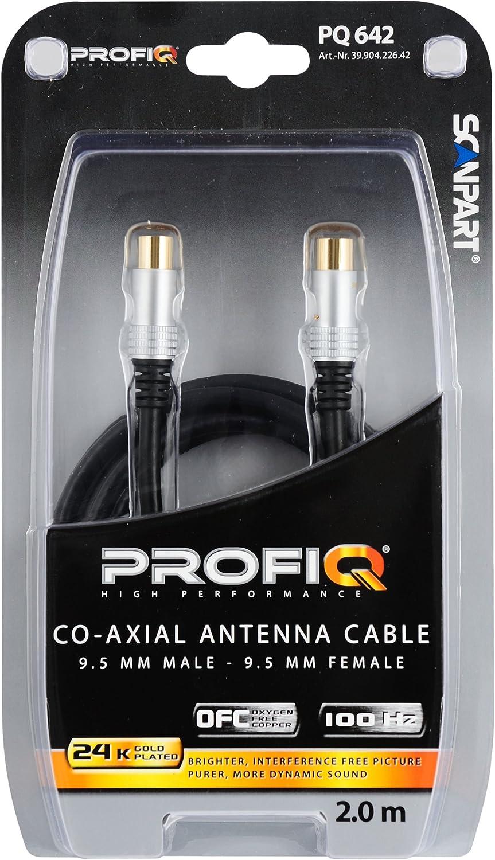 Scan Part Profi Q - Cable de antena coaxial con filtro de ferrita ...