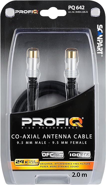 Scan Part Profi Q - Cable de antena coaxial con filtro de ...