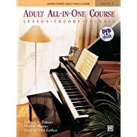 Alfred's Basic Adult All-in-One Course: Lesson, Theory, Technic (Alfred's Basic Adult Piano Course)