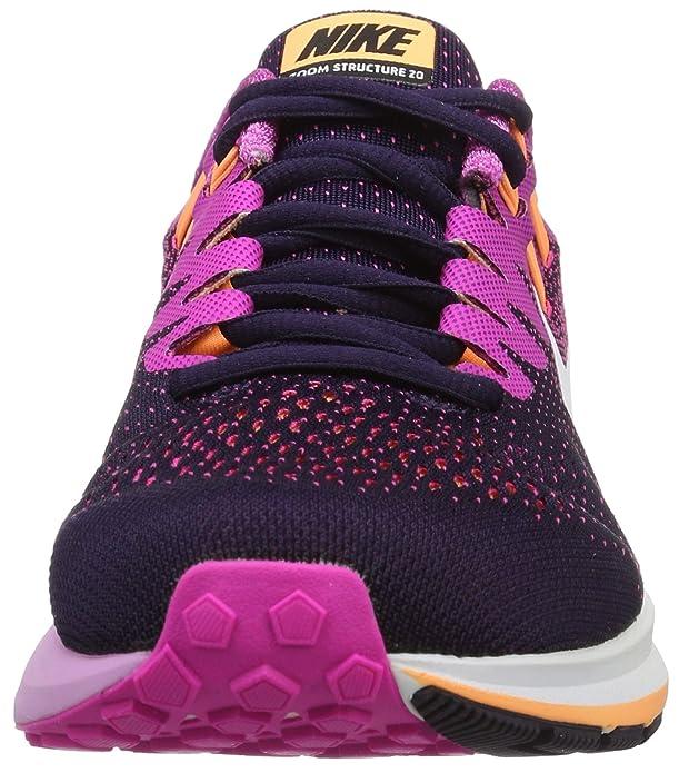 Nike 849577-501, Zapatillas de Trail Running para Mujer, Varios Colores (Purple Dynasty/White/Fire Pink), 41 EU