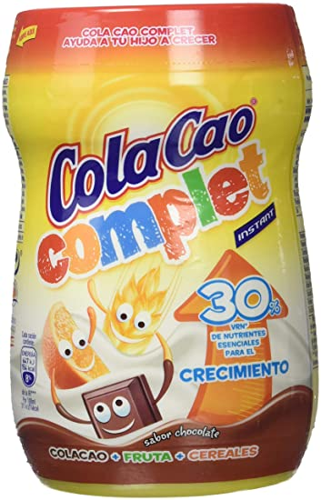 ColaCao - Complet - Bebida con sabor a chocolate - 360 g - [Pack de