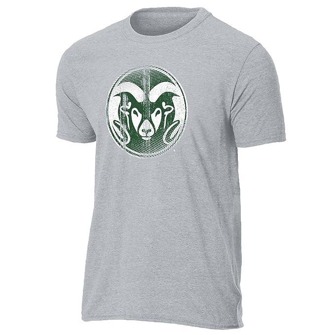 NCAA Colorado State Rams Ouray Sportswear Vintage Sheer Short Sleeve Tee, Medium