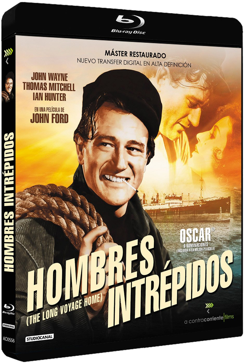 The Long Voyage Home (1940) [ NON-USA FORMAT, Blu-Ray, Reg.B Import - Spain ]