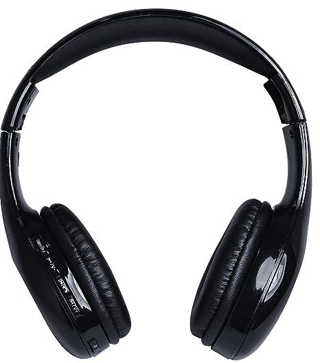 Coby CHBT-705-BLK Scope Wireless Stereo Bluetooth Headphones, Black