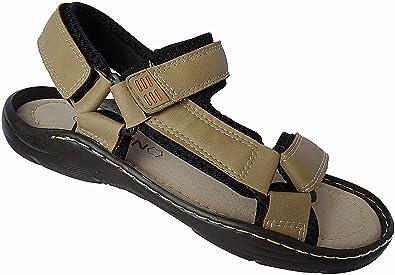 Herren Sandalette Outdoorsandale Schuhe Trekking Sandale gr.41 - 46 nr.9325 beige