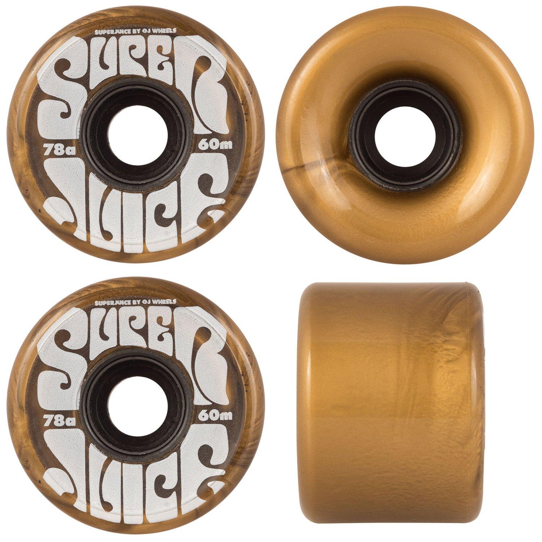 OJ III Skateboard Cruiser Wheels Super Juice Gold 60mm 78A