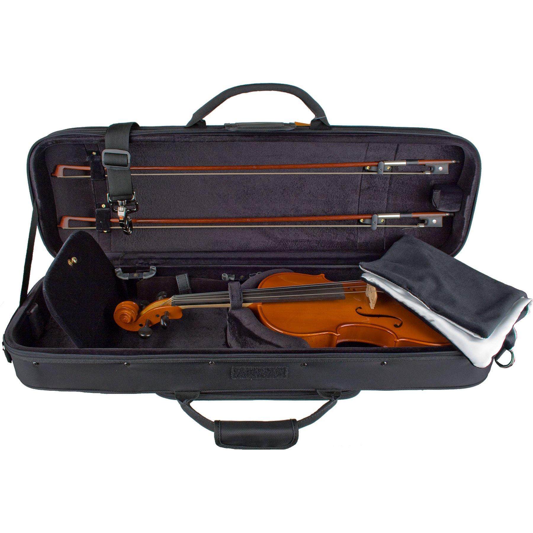 Protec Deluxe 4/4 Violin PRO PAC Case - Black Interior by ProTec (Image #3)