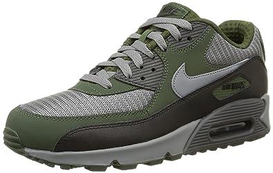 reputable site 33fef b7077 ... reduced nike air max 90 essential mens running shoes gris black verde  2a6e8 0abf7
