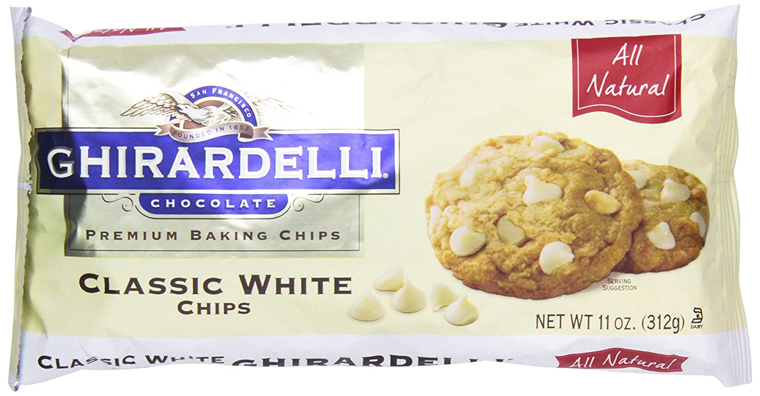 Amazon.com : Ghirardelli Premium Baking Chips, Classic White ...