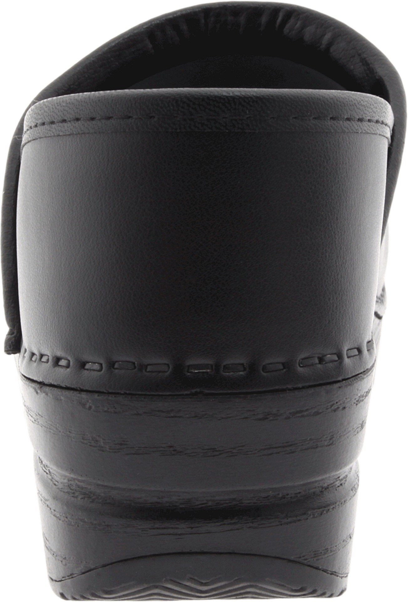 Dansko Women's Wide Professional Clog,Black Box,38 W EU / 7.5-8 D(W) US by Dansko (Image #2)