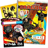 Dreamworks Dragons Bendon 37231 How to Train Your Dragon 3 Coloring /& Activity Book with Crayons Multicolor