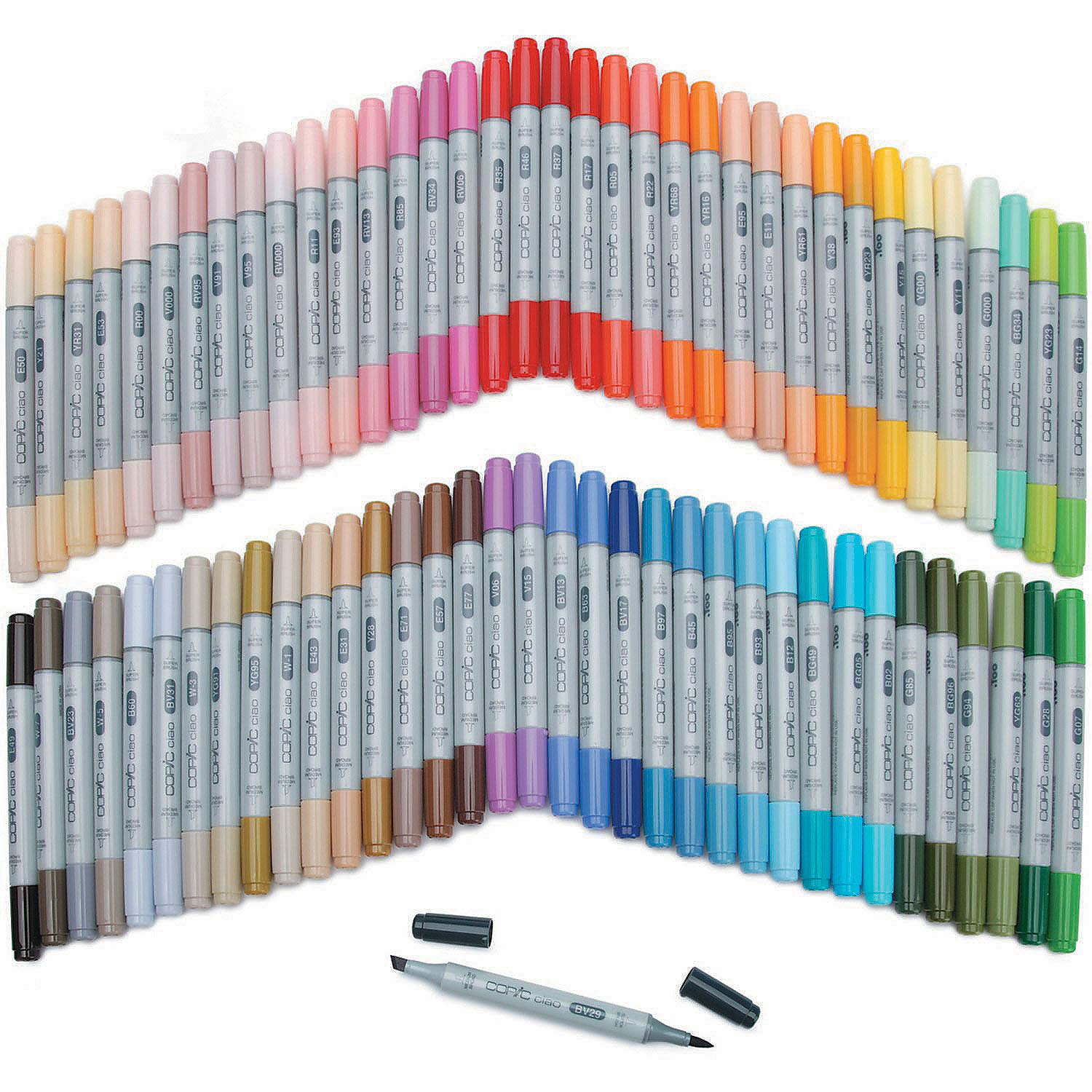 Fun Express - Copic Ciao Market 72/pkG-Set B - Craft Supplies - Scrapbooking - Tools - 1 Piece