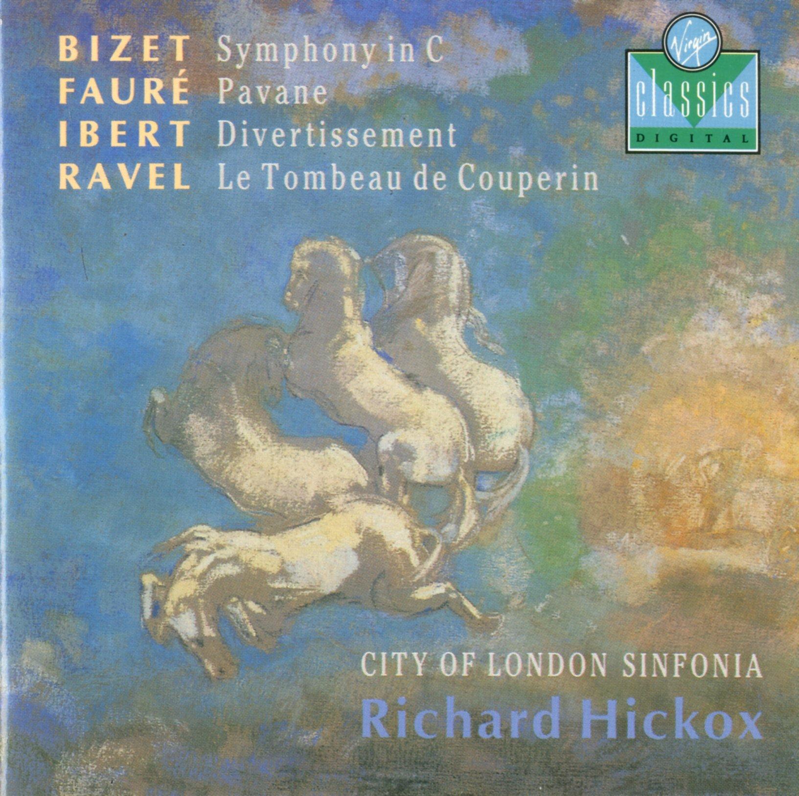 Bizet, Symphony in C; Faure, Pavane; Ibert, Divertissement;