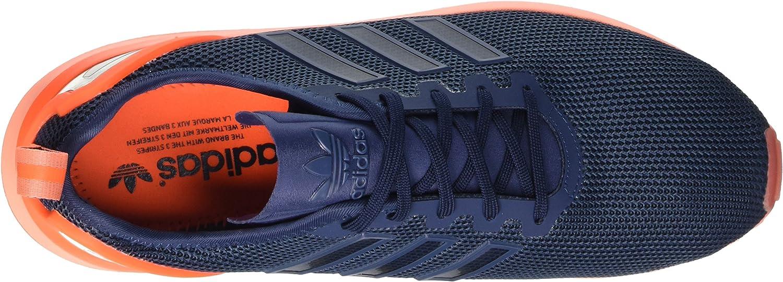Adidas Herren Zx Flux ADV Turnschuhe, weiß Blau Mini Blue Mini Blue Solar Orangemini Blue Mini Blue Solar Orange