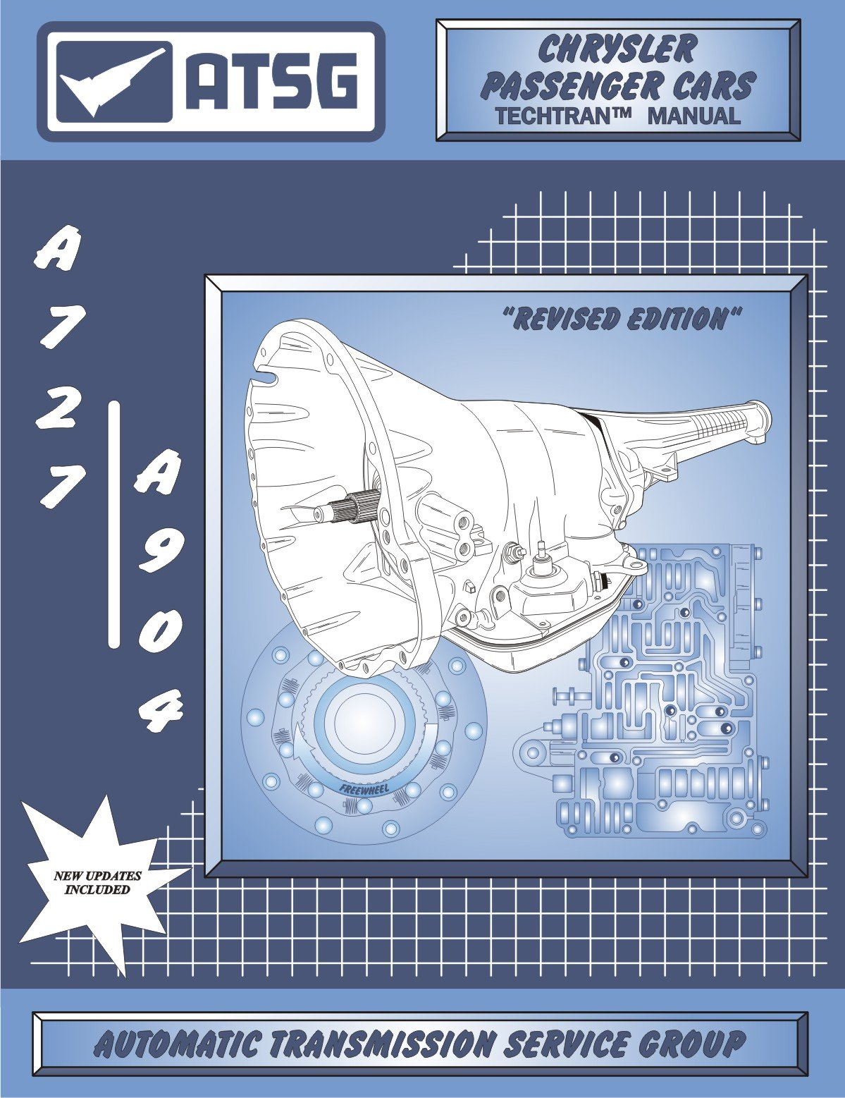 ATSG Chrysler Torqueflight A-727 A-904, Techtran Manual (1960 & Up): Robert  D. Cherrnay: Amazon.com: Books