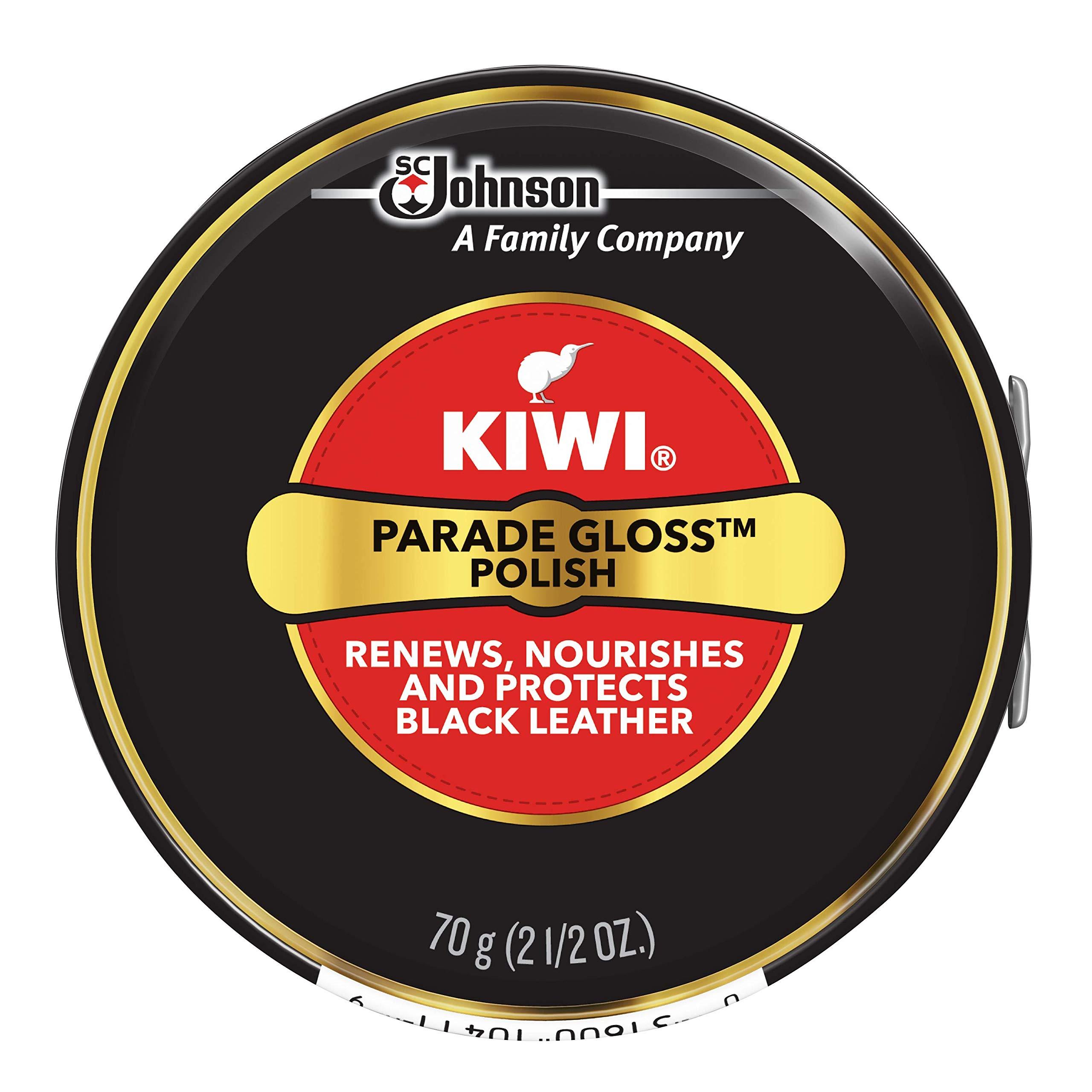 Limpiabotas Kiwi Giant Black Parade Gloss Shoe (2.5 oz de es