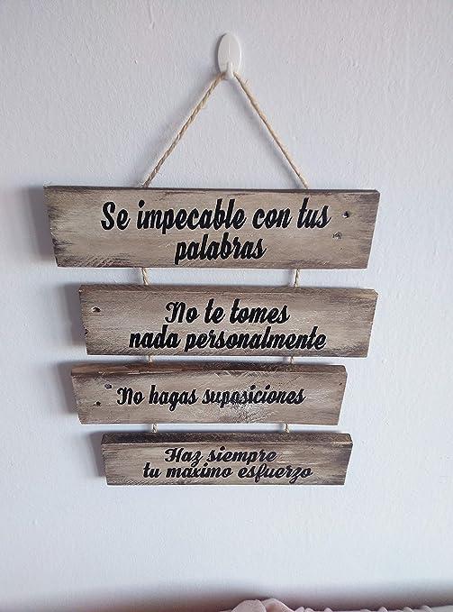 Letrero de madera con frases, personalizado, regalos ...