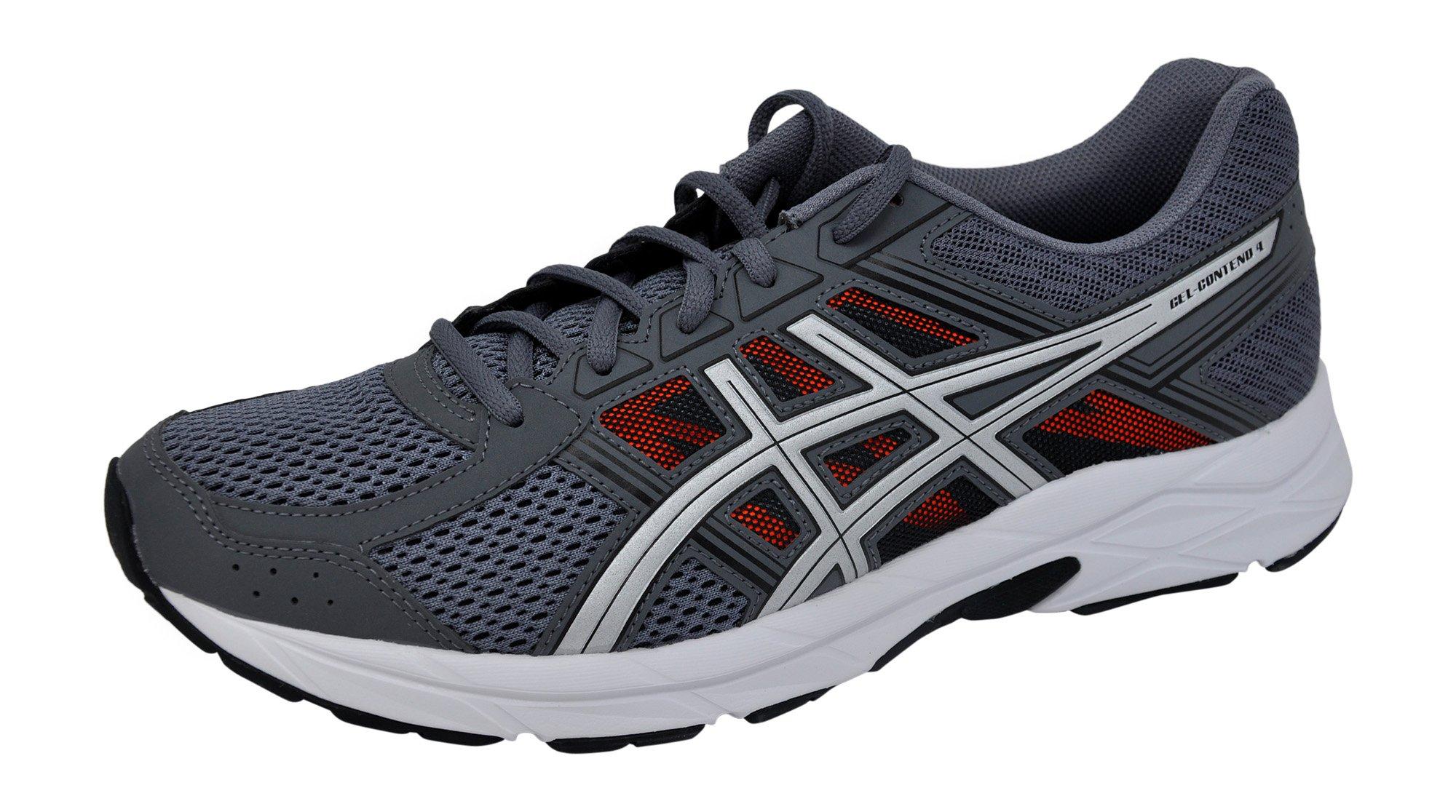 01badbf926e2 Galleon - ASICS Men s Gel-Contend 4 Running Shoe Carbon Silver Orange