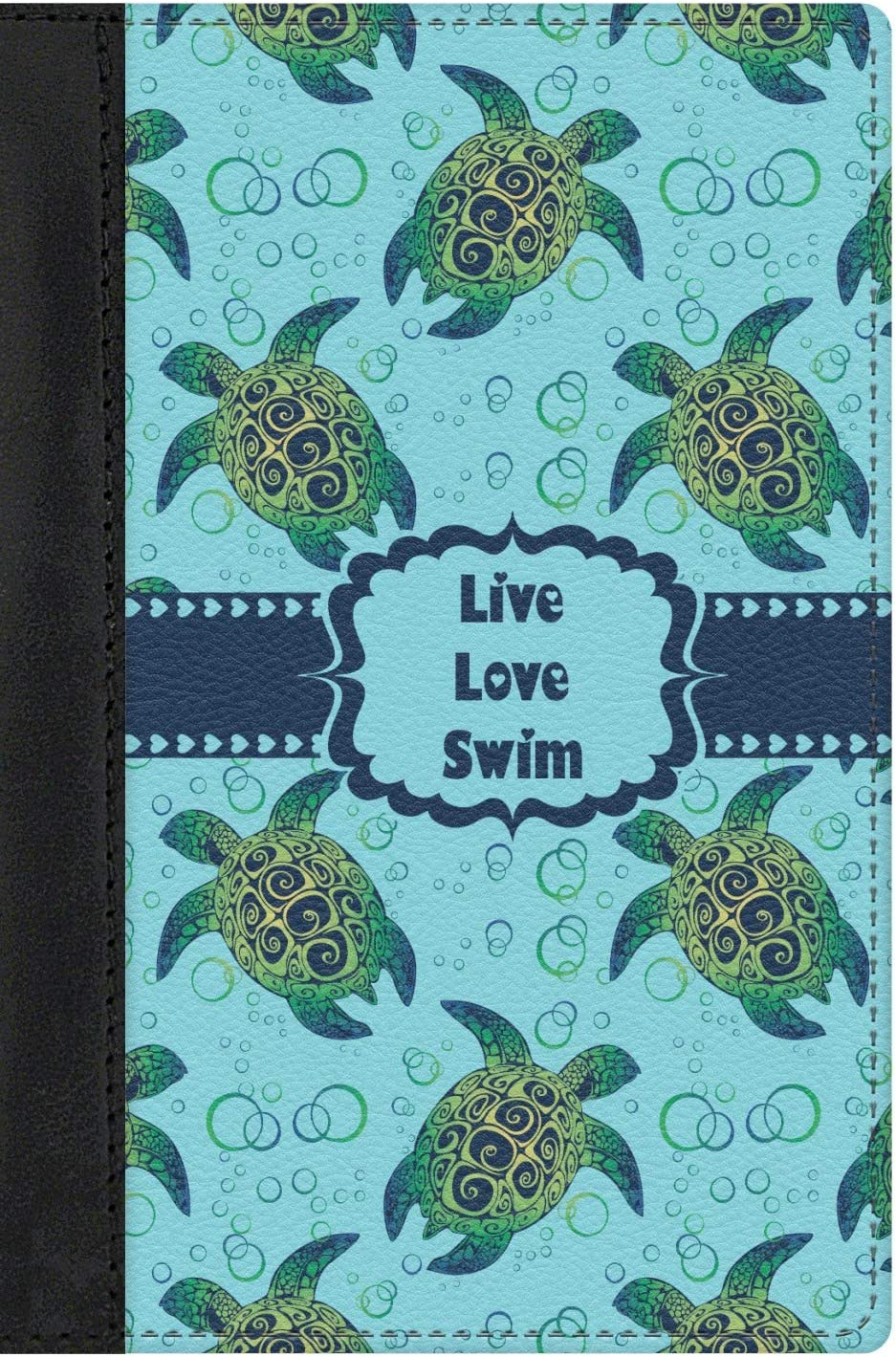 Personalized Sea Turtles Genuine Leather Passport Cover