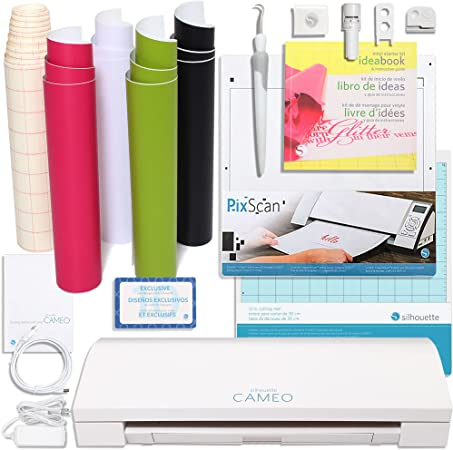 Silhouette America CAMEO-3-AMAZON-BDL-3 Touch Screen, Bluetooth ...