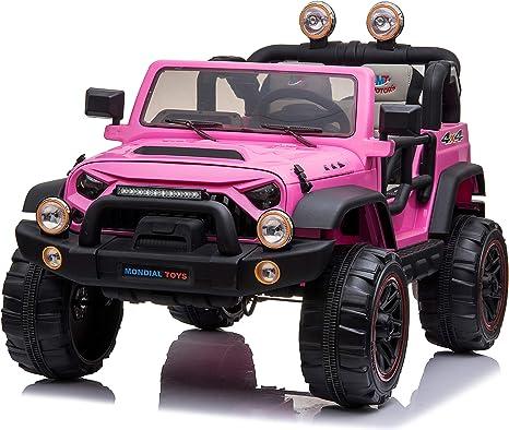 Mondial Toys Auto ELETTRICA 12V per Bambini 2 POSTI Maxi