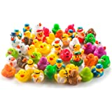 Fun Central AY771 Rubber Ducks Toy Assorted - 50 ct