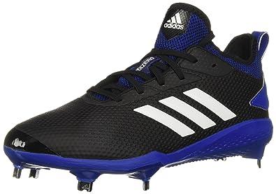 0ce4388ace84 adidas Men's Adizero Afterburner V Baseball Shoe, Black/Cloud  White/Collegiate Royal,