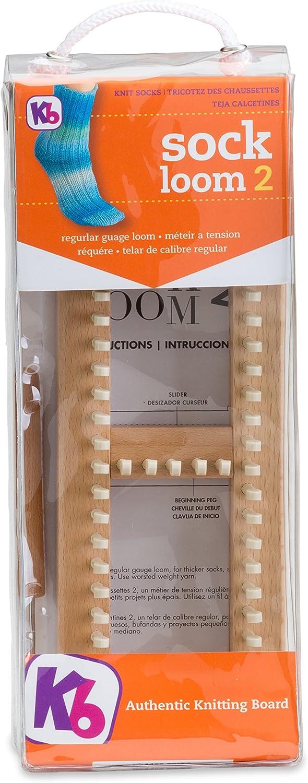 B00DRP4C2M Authentic Knitting Board Regular Gauge Sock Loom 2 81YotNiL-2L