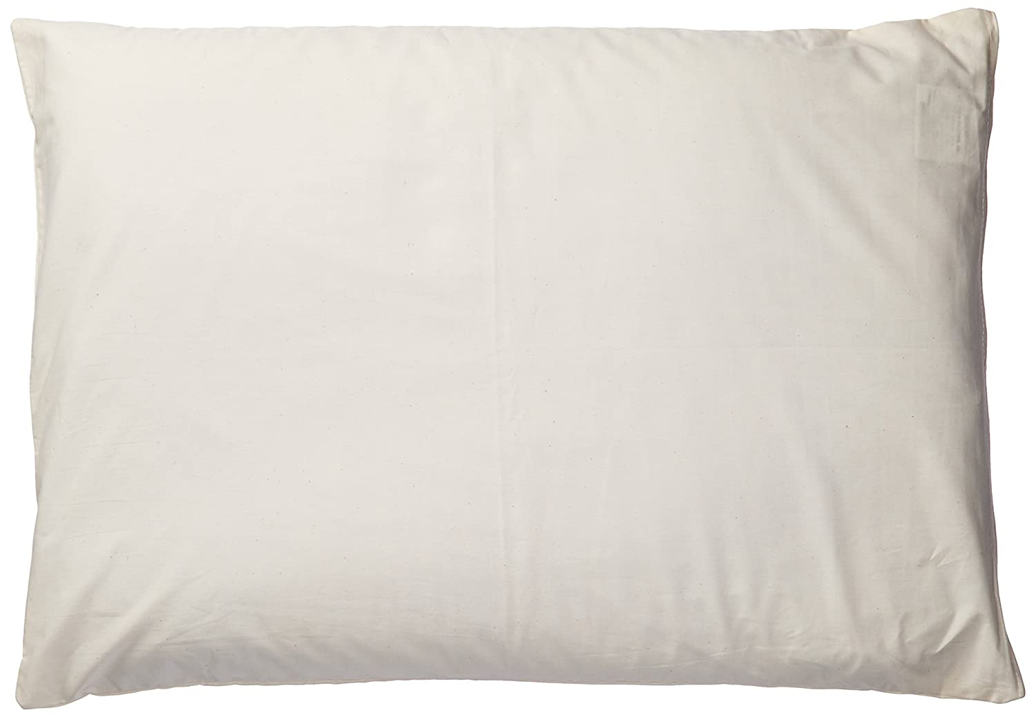 Natures Pillows NP-55000 Sobakawa Buckwheat Pillow with Free Pillow Protective Cover, Standard Size, 15 x 20 Inc.