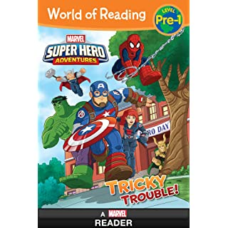World of Reading:  Super Hero Adventures: Tricky Trouble!: Level Pre-1 (World of Reading (eBook))