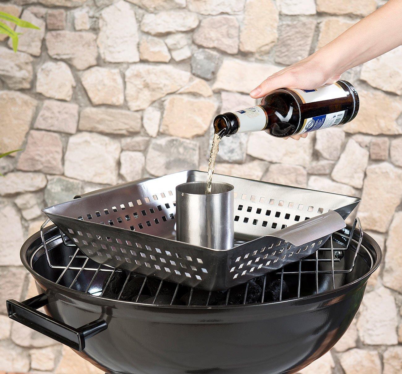 Support de cuisson pour poulet entier pour four /& barbecue