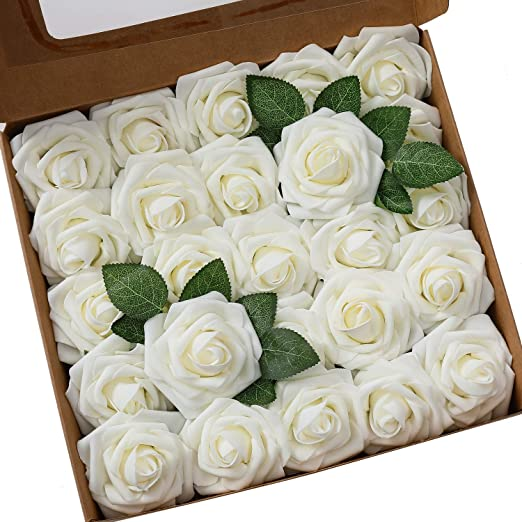 Ksnrang - Rosas Artificiales de Aspecto Real, Rosas Falsas de ...